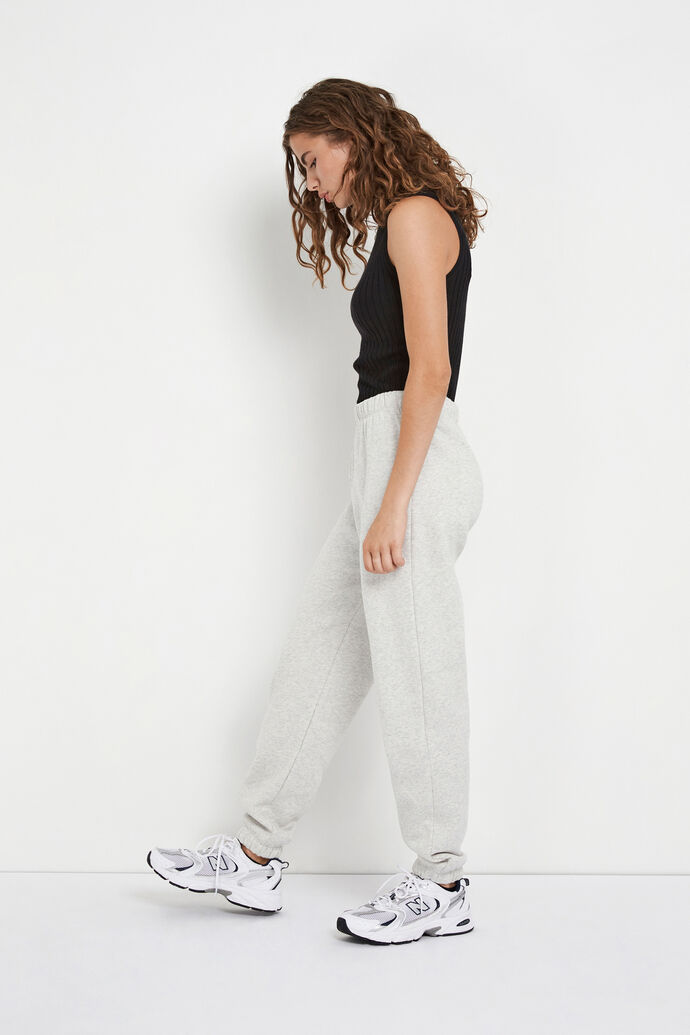ENMONROE PANTS 5346, LIGHT GREY MEL.