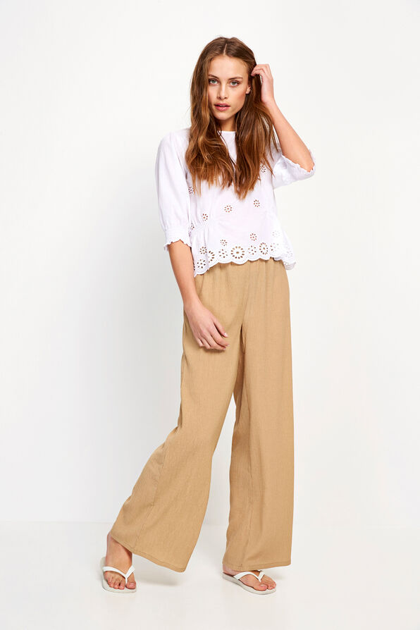 ENLOMBARD PANTS 6621, TRAVERTINE