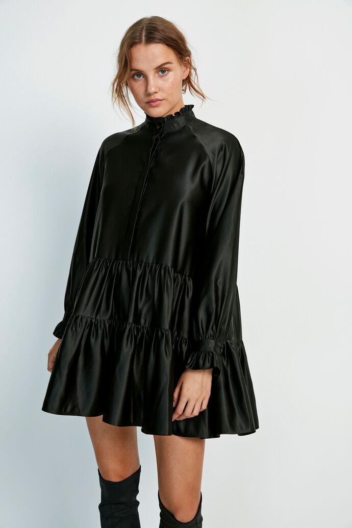 ENALBA LS O-N DRESS 6674, BLACK