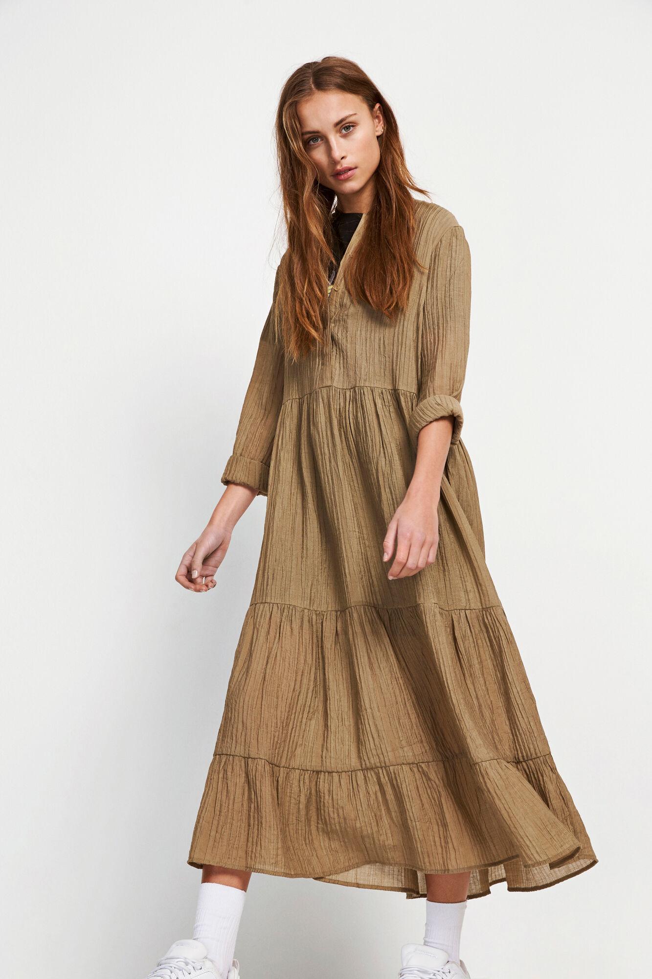 ENMAGIC LS MAXI DRESS 6614