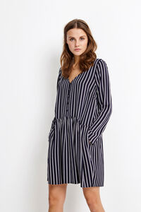 ENSERRA LS V-N DRESS AOP 6576