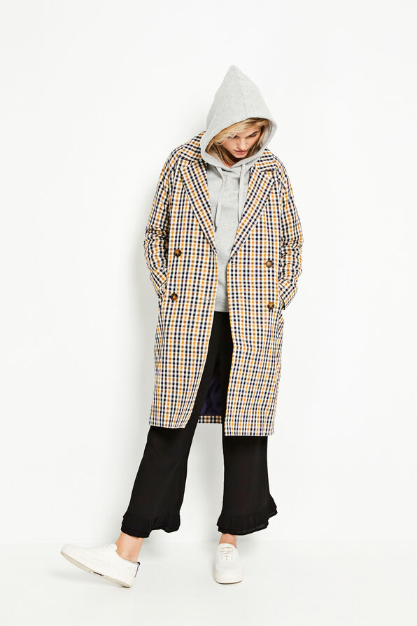 ENLYON JACKET 6534, OCHRE CHECK