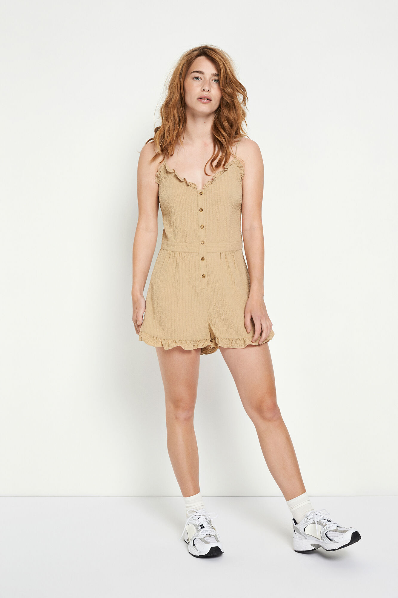 ENSYMPHONY SL JUMPSUIT 6737, TRAVERTINE