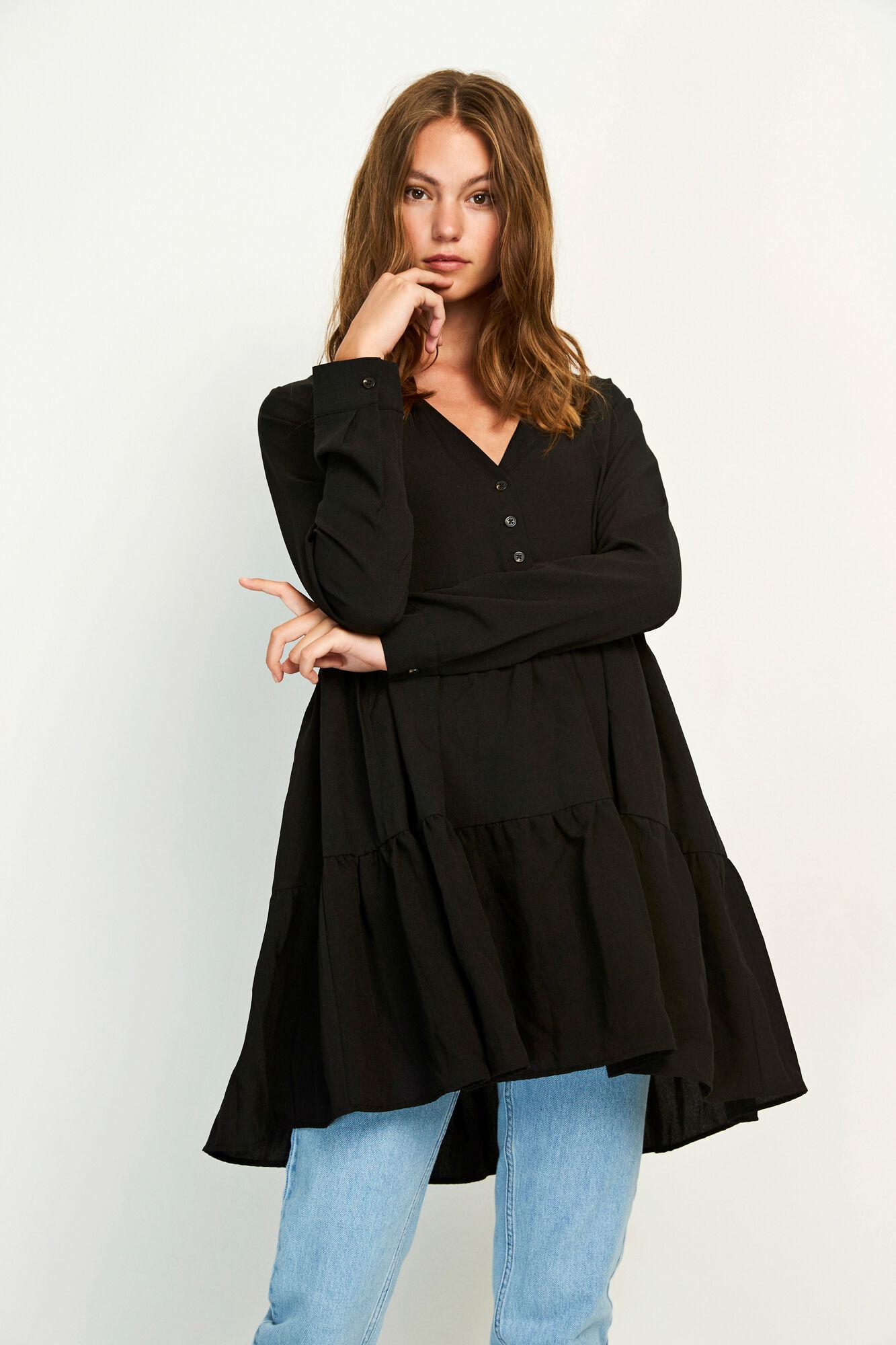 ENTEAK LS V-N DRESS 6660