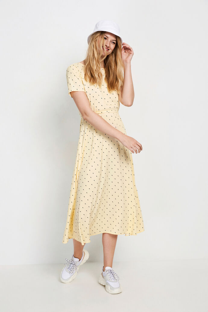 ENCHARITON SS DRESS AOP 6595