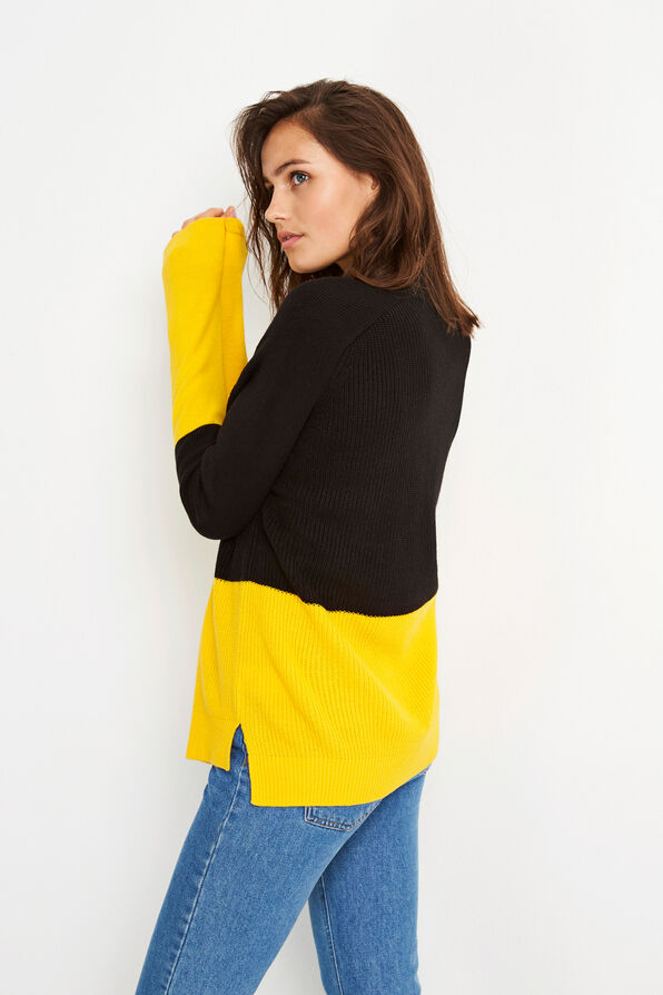ENNICOLINE KNIT BLOCK 5531