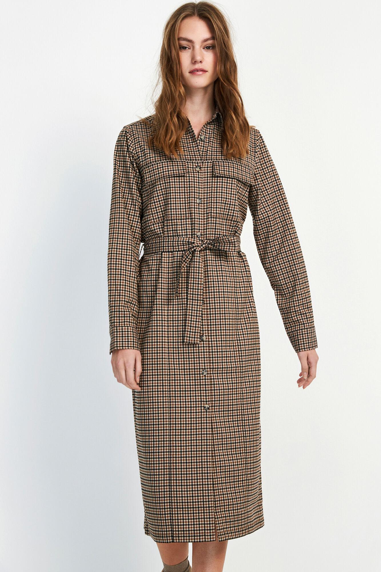 ENCOFFEE LS LONG DRESS 6684