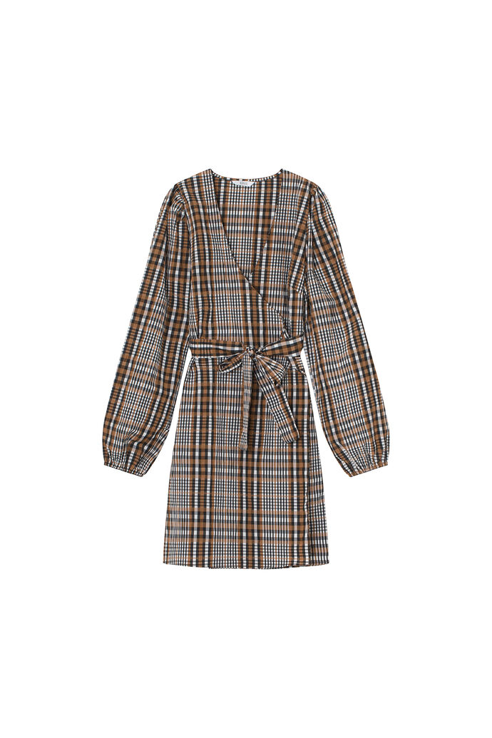 ENRYE LS V-N DRESS 6881