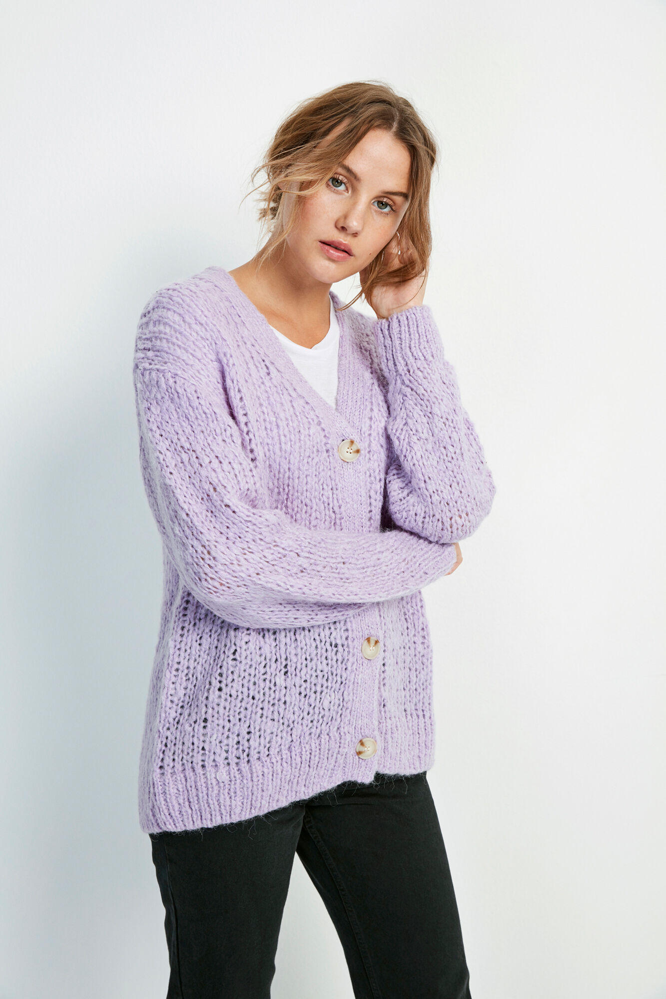 ENCOLDEN LS CARDIGAN 5219