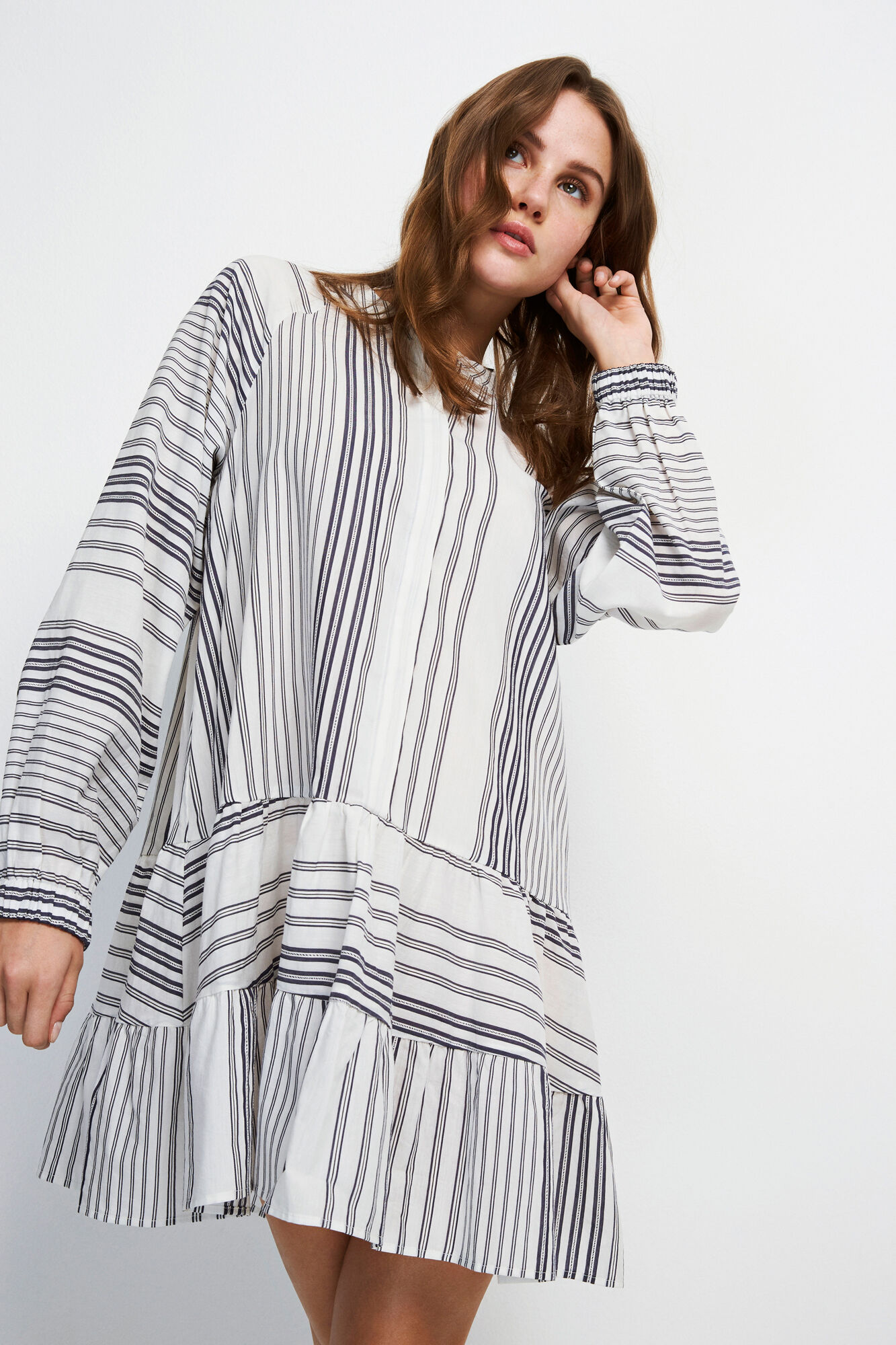 ENCROWD LS DRESS 6635