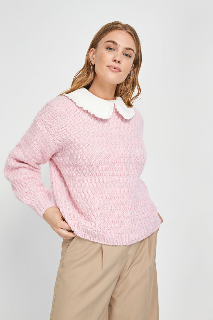 ENBUCKTHORN LS KNIT 5237, LILAC SNOW