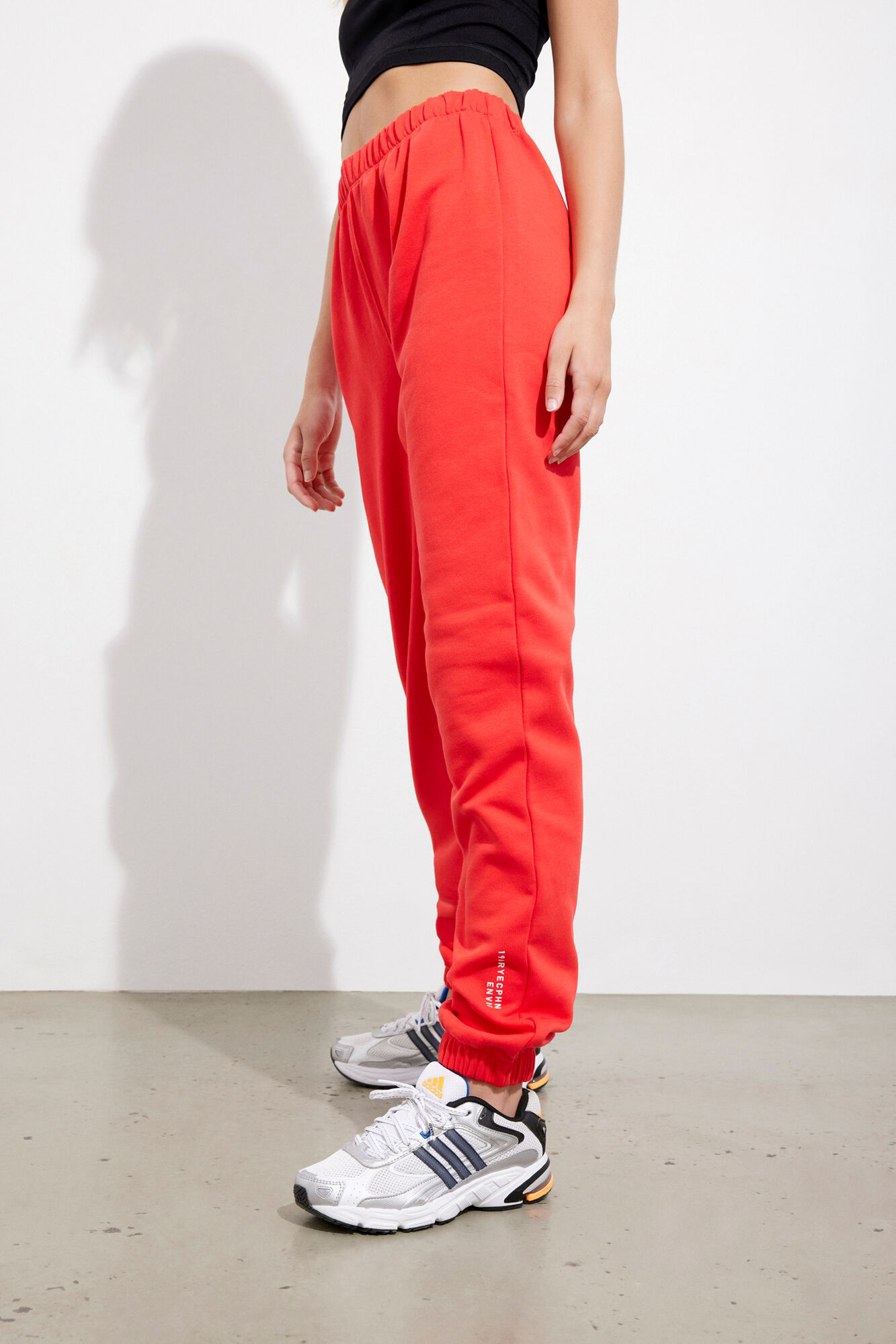 ENMONROE PANTS LOGO 5304, HIGH RISK RED