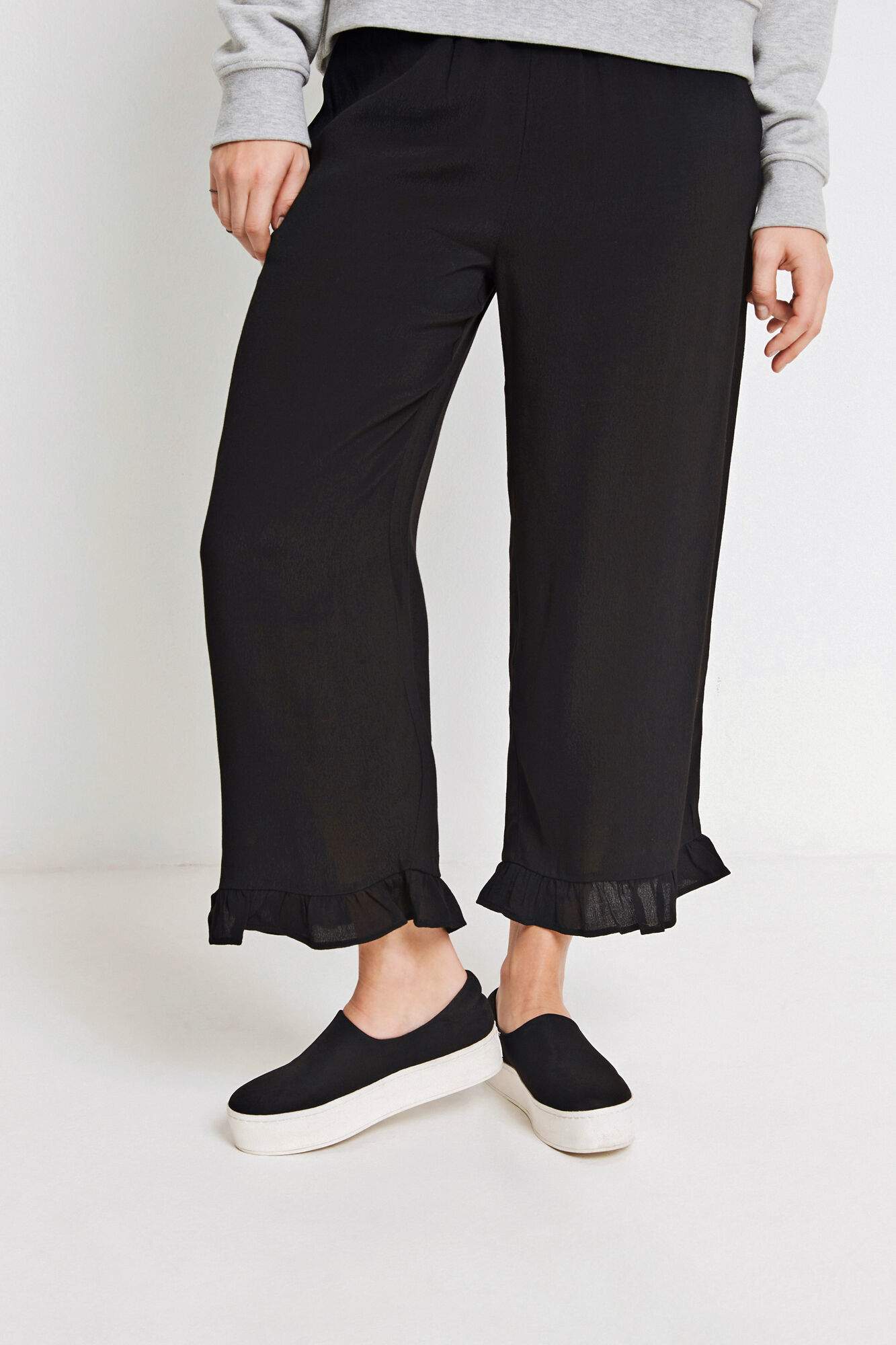 ENSATELLITE PANTS 6257, BLACK