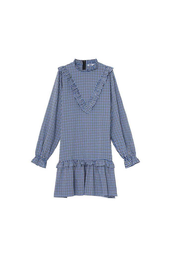 ENISLAND LS DRESS 6871