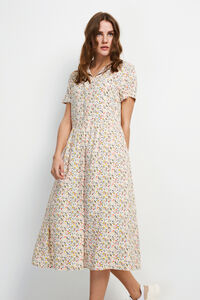 ENMOORE SS DRESS AOP 6646