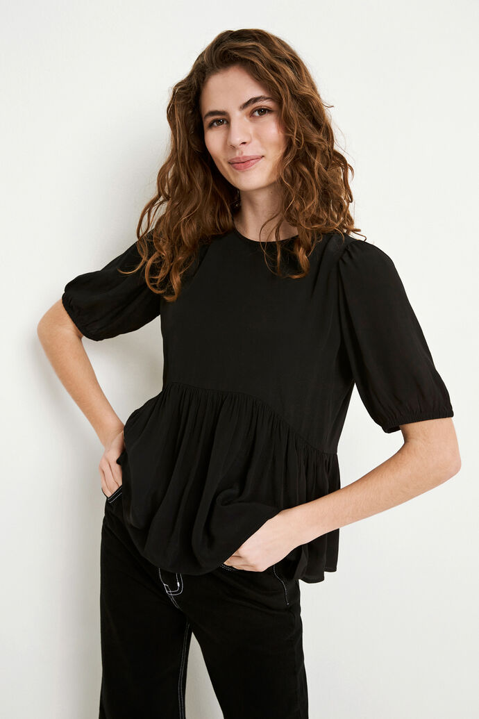 ENCLARA SS TOP 6696, BLACK