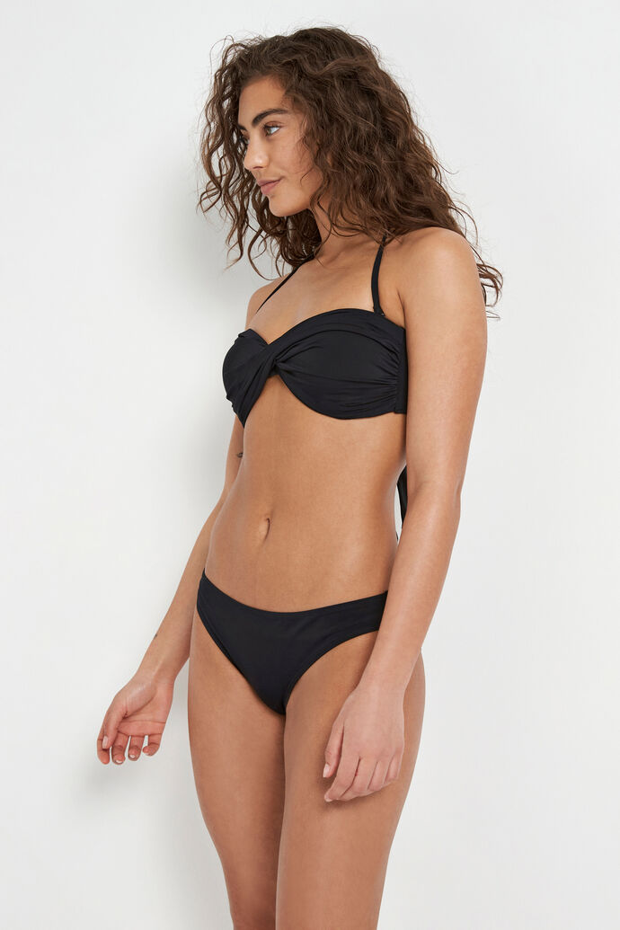ENSALMON SWIM BRA 5782, BLACK
