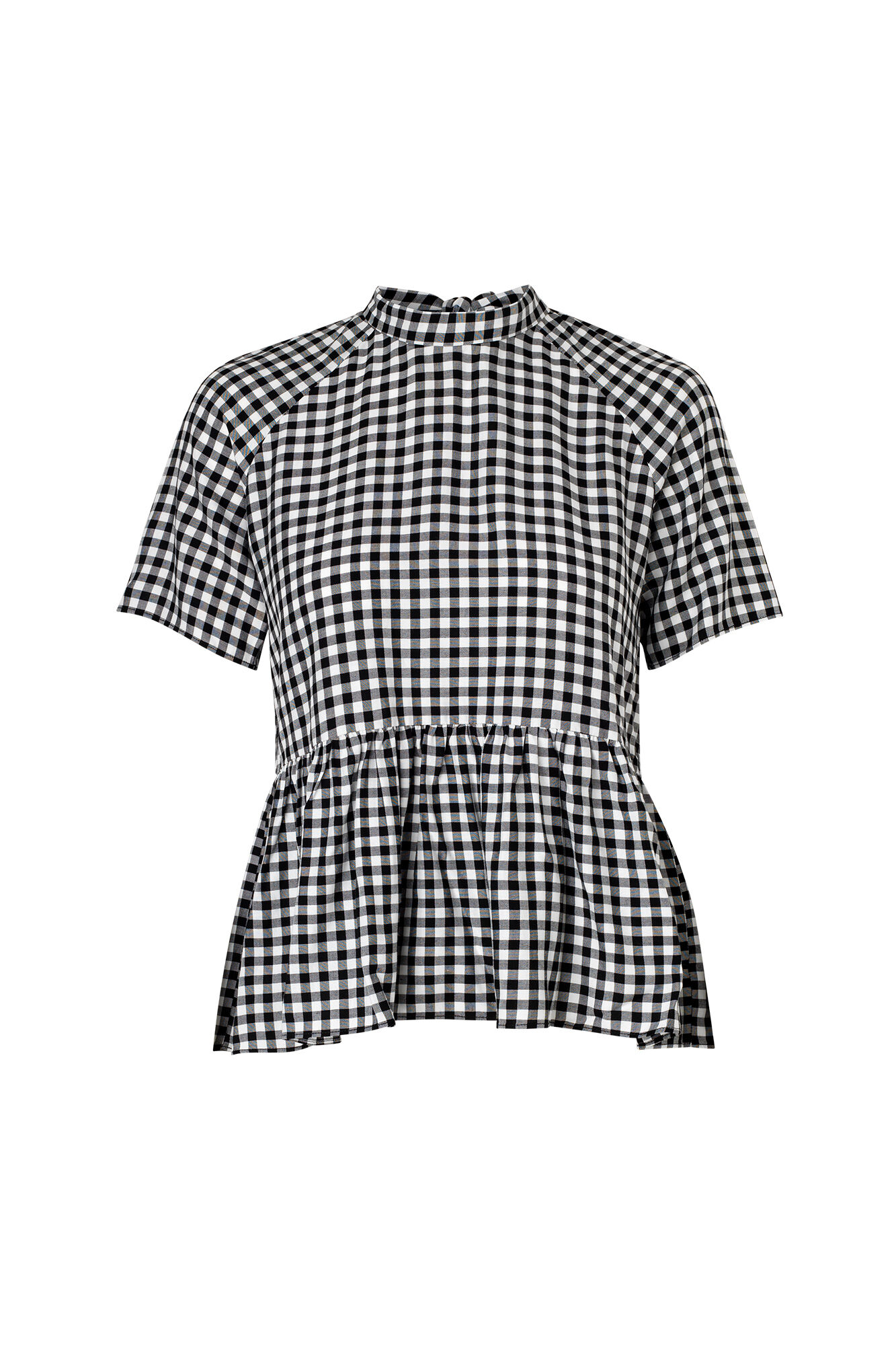 ENOIL SS TOP 6473, GINGHAM CHECK