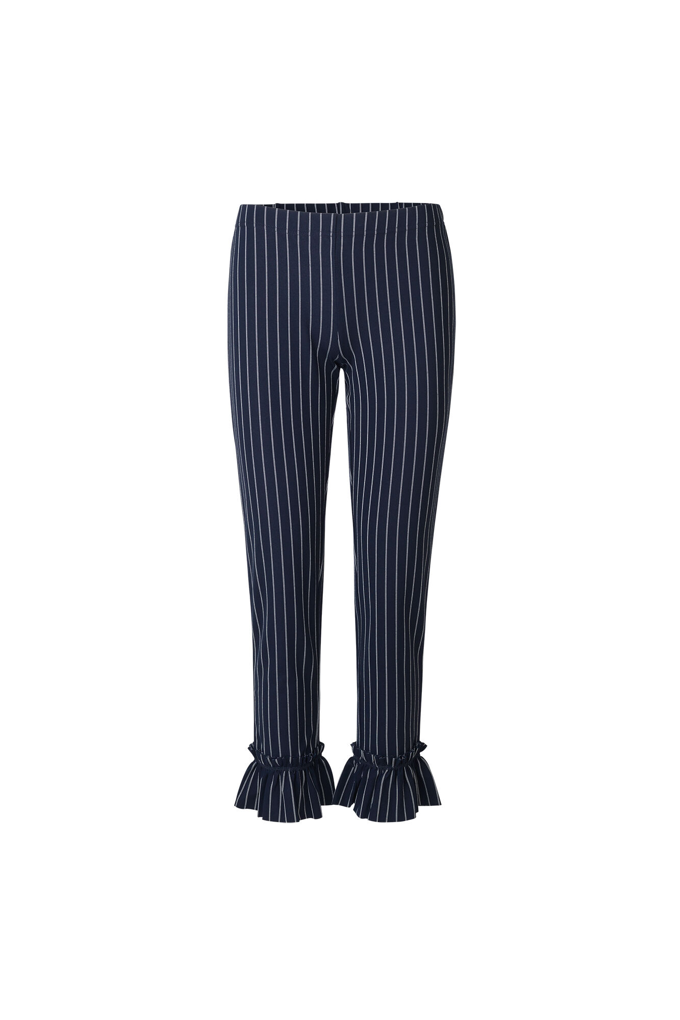ENTOFFEE PANTS 5957, NAVY PINSTRIPE