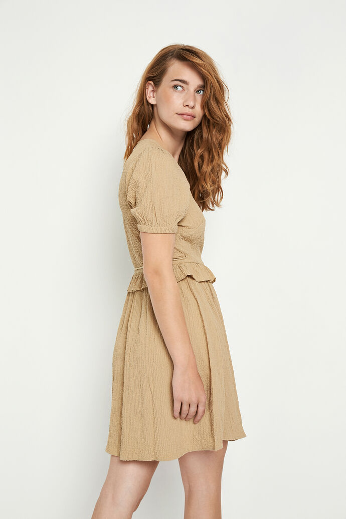 ENSYMPHONY SS DRESS 6737, TRAVERTINE