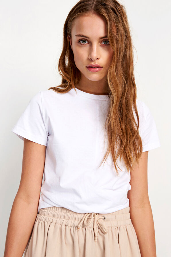 ENBREEZE SS TEE 5867, WHITE
