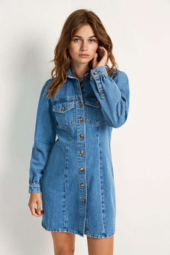 ENSPRUCE LS DRESS 6667, SPRUCE BLUE