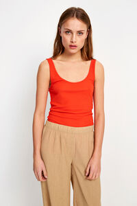 ENVELDA SL TEE 5928, FIERY RED