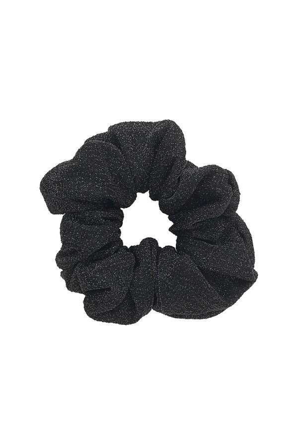 ENWELLY SCRUNCHIE 5930, BLACK GLITTER