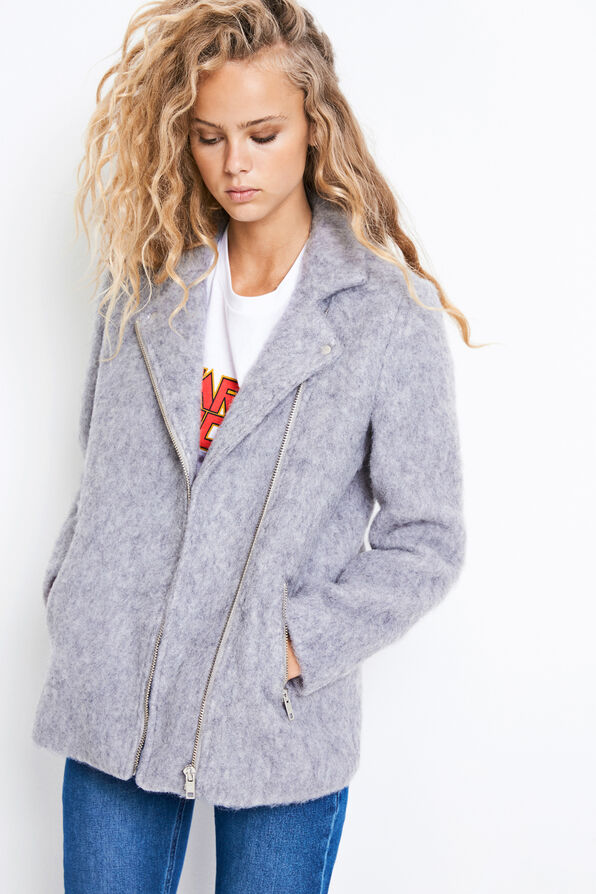 ENDECK JACKET 6375, LIGHT GREY MEL.
