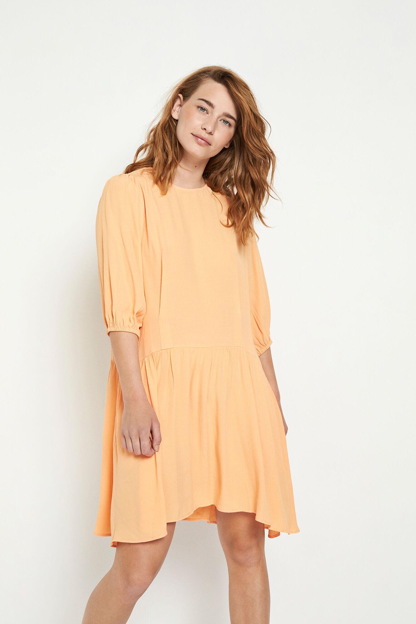 ENTEN 3/4 DRESS 6696, SALMON BUFF