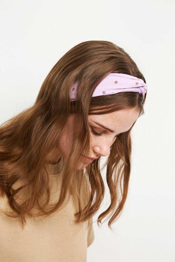 ENWELLY HEADBAND AOP 6651, BLOOM DOT