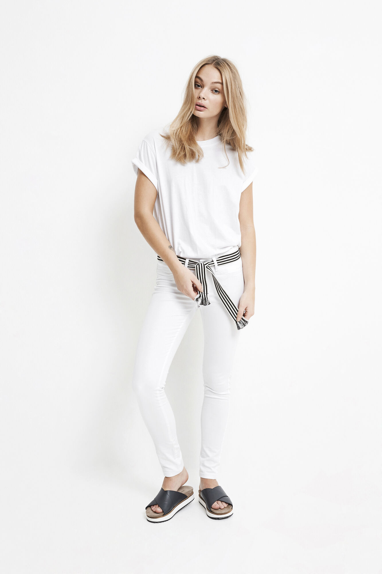 BLAIR JEANS WHITE 6363, WHITE