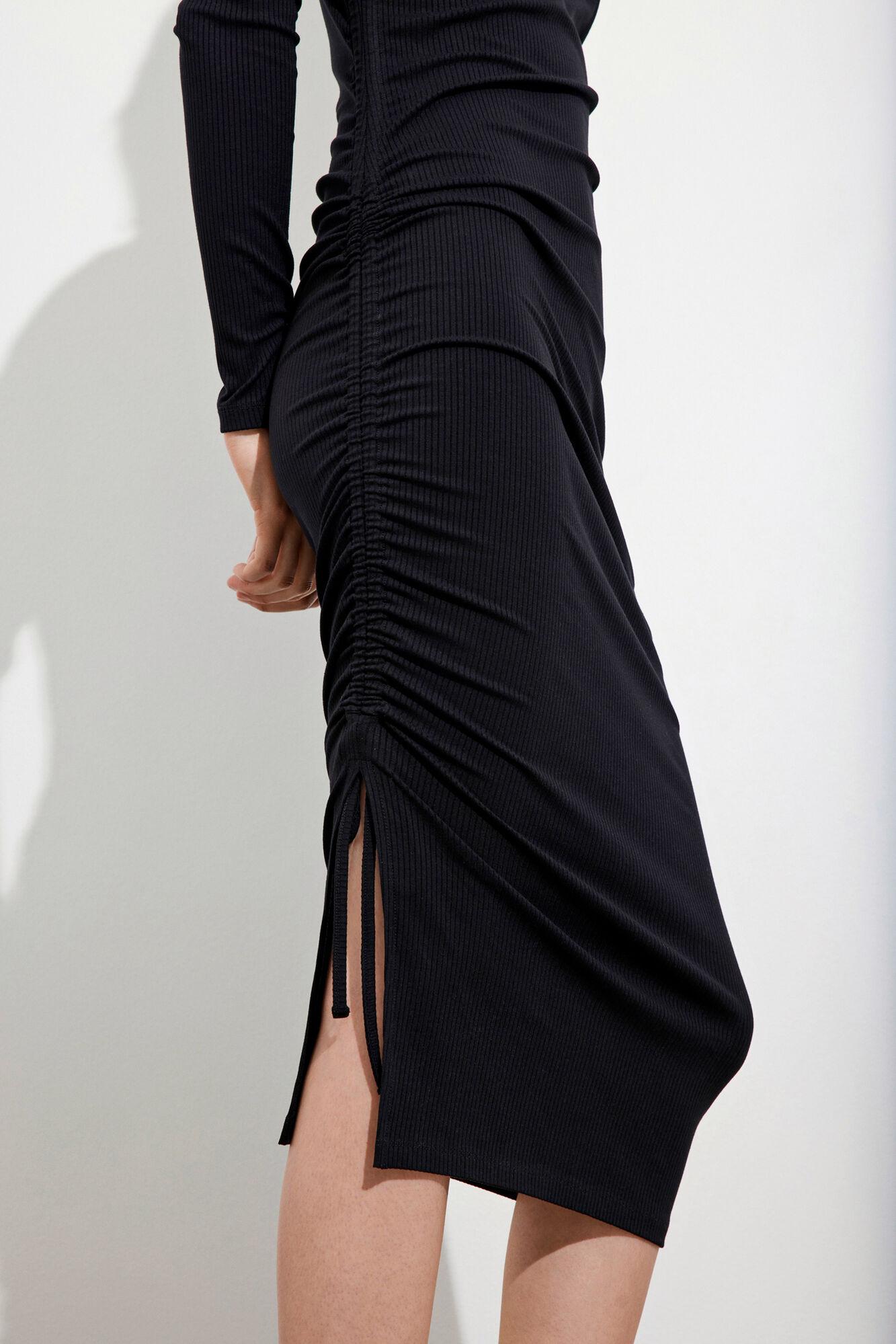 ENZOE LS SQUARE DRESS 5344