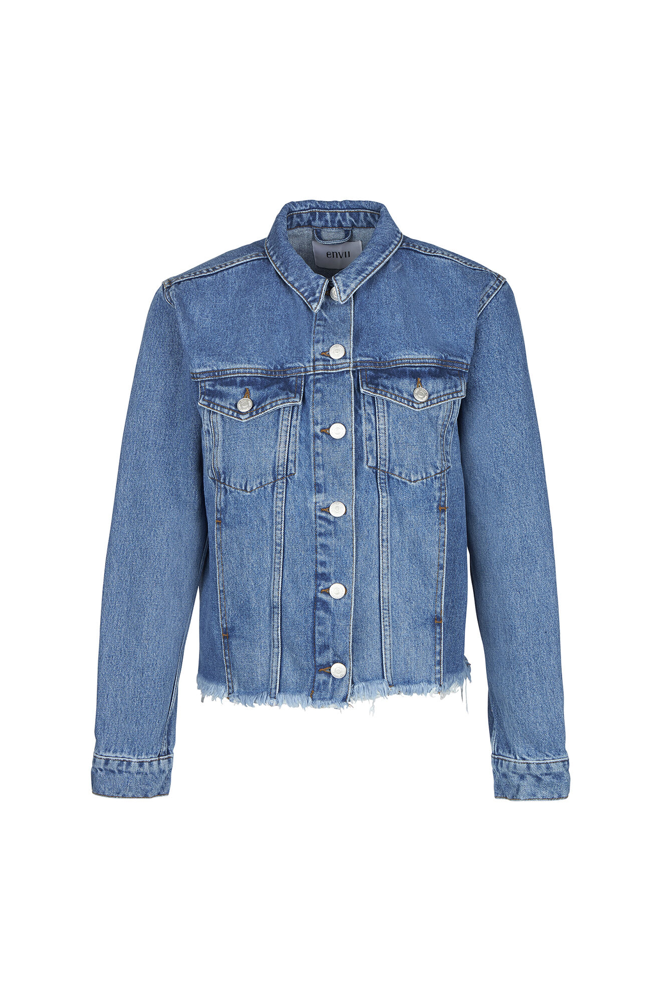 ENRIDER DENIM JACKET 6436, 90S MID BLUE