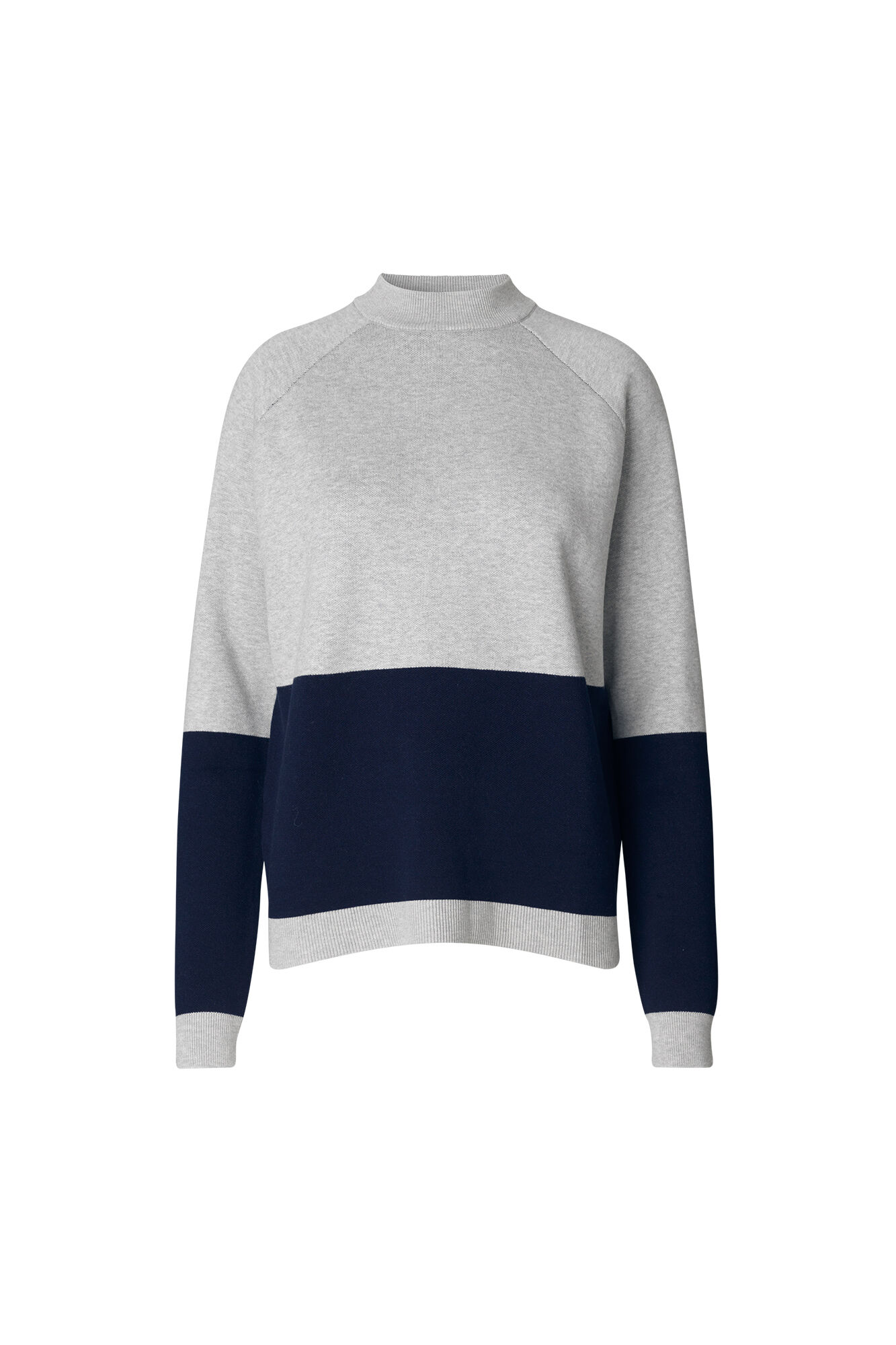 ENPETROL LS KNIT BLOCK 5153, LGM/NEW NAVY
