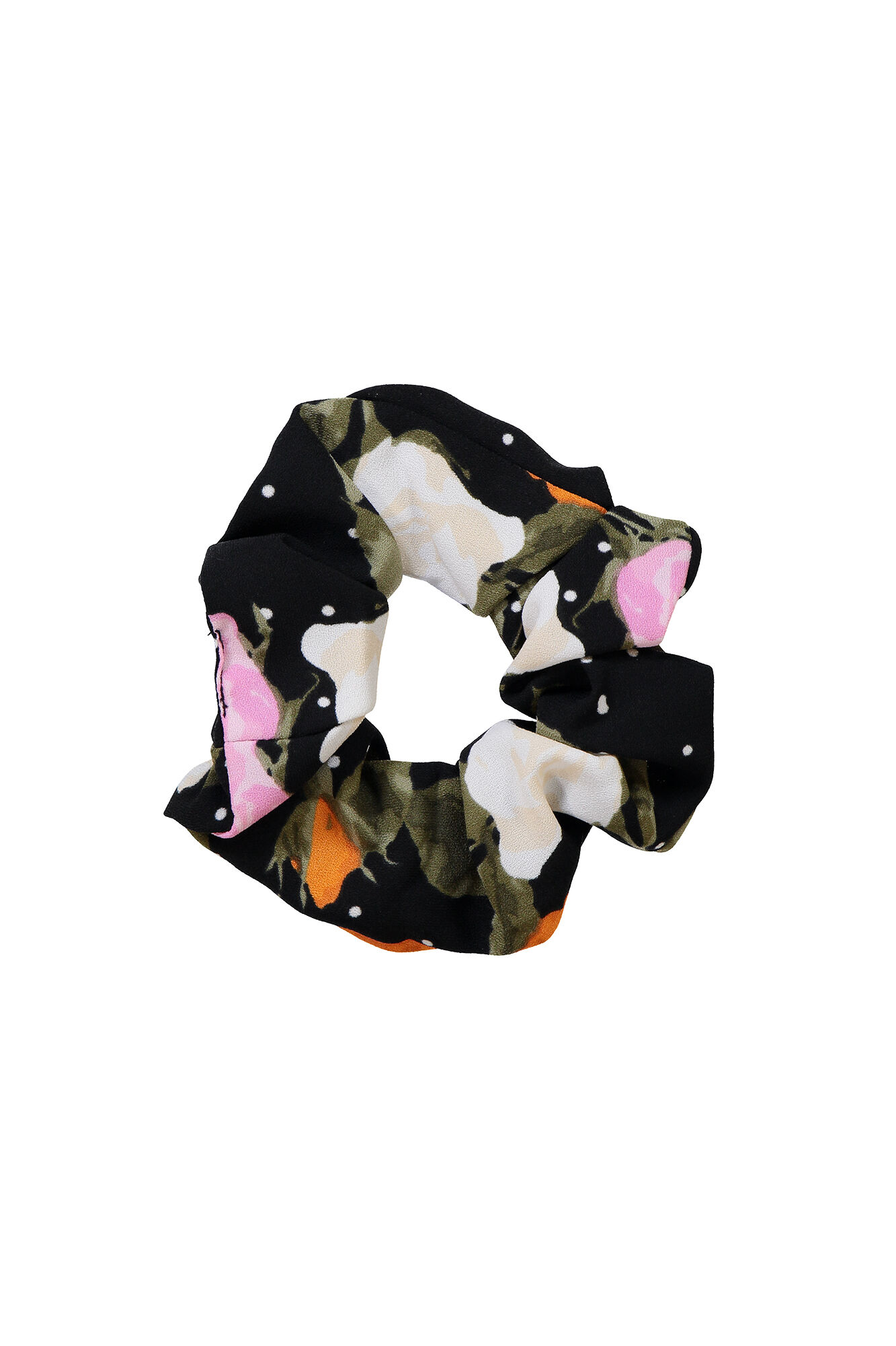 ENWELLY SCRUNCHIE AOP 6497, ROSE DOT AOP