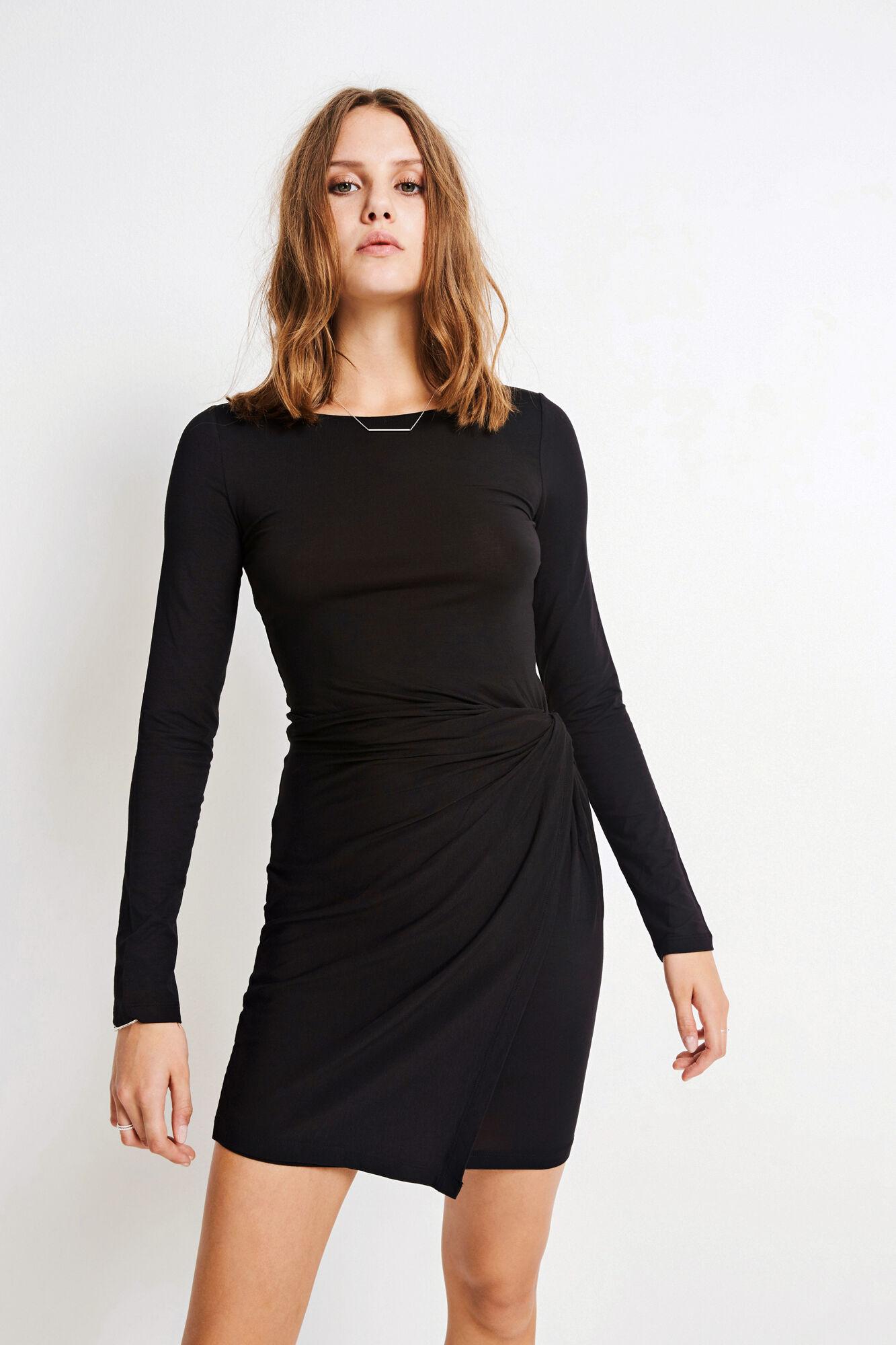 OLGA DRESS 5473, BLACK