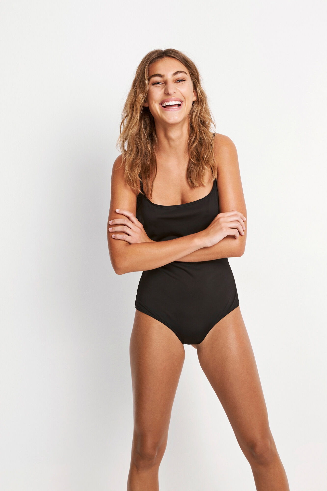 ENZUMA SWIMSUIT 5782, BLACK