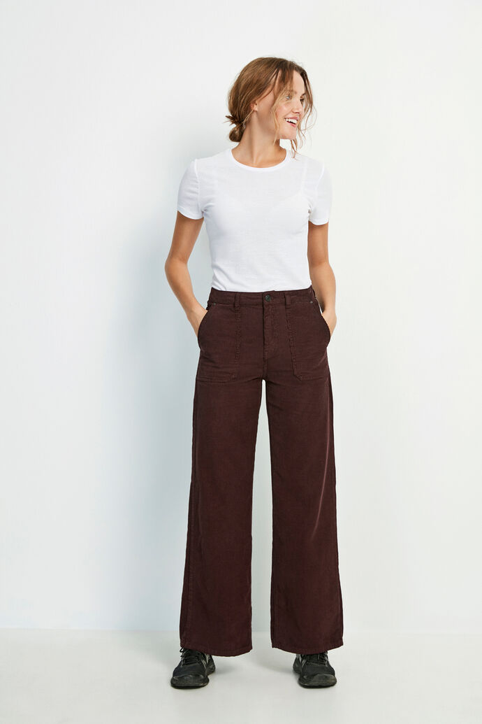 ENALASKA PANTS 6641, FUDGE