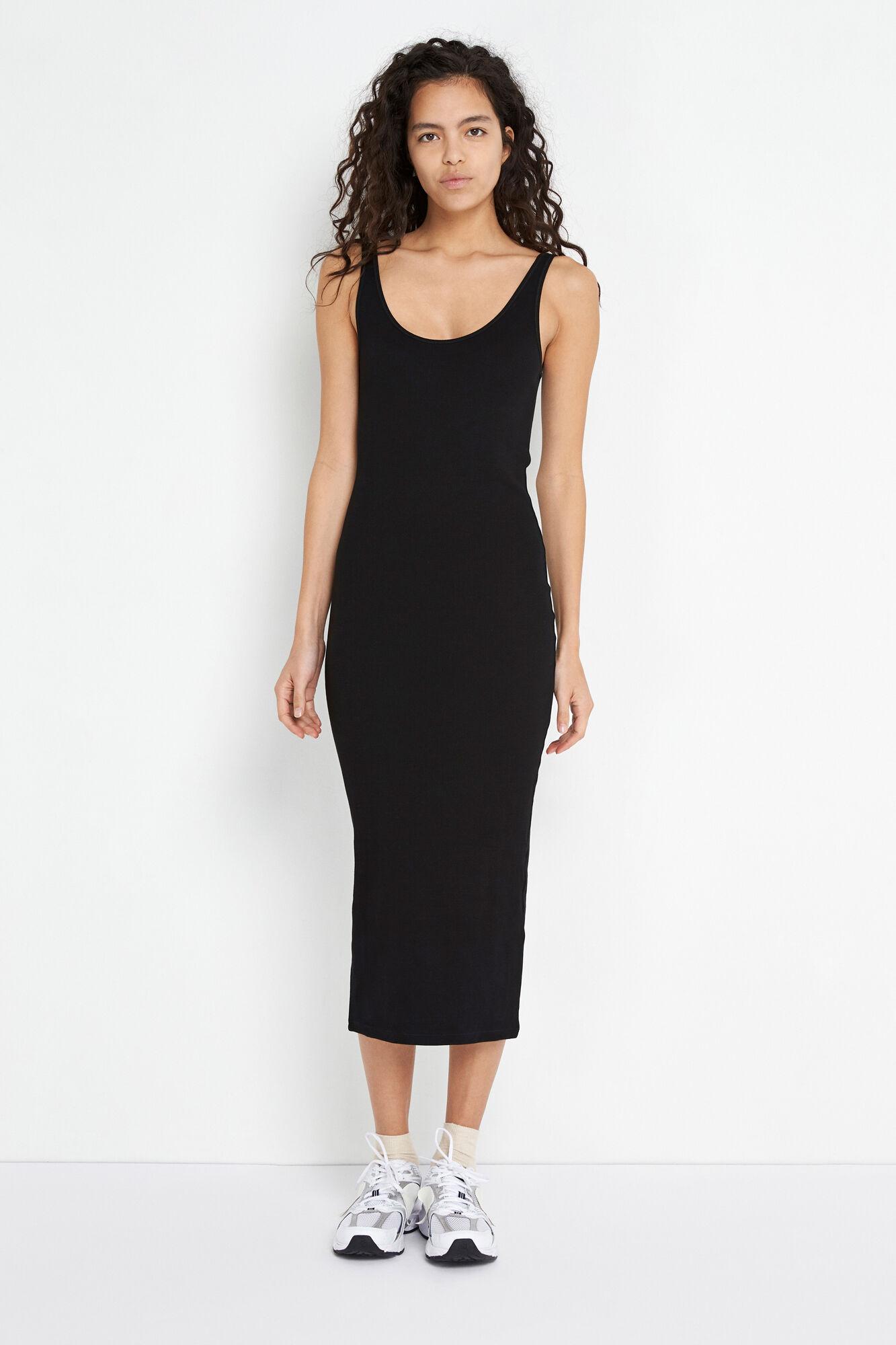 ENALLY SL DRESS 5314, BLACK