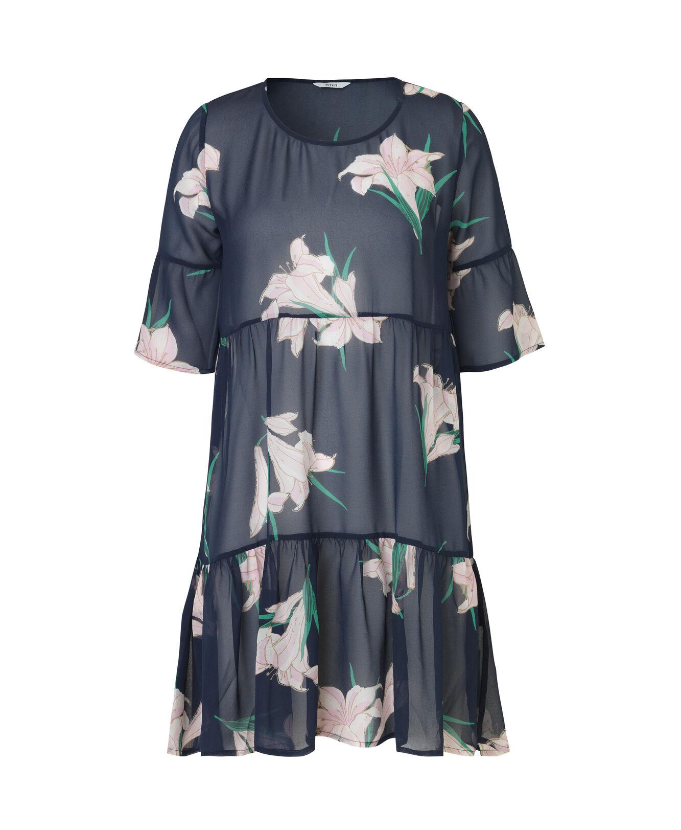 ENMOANA 3/4 DRESS AOP 6395