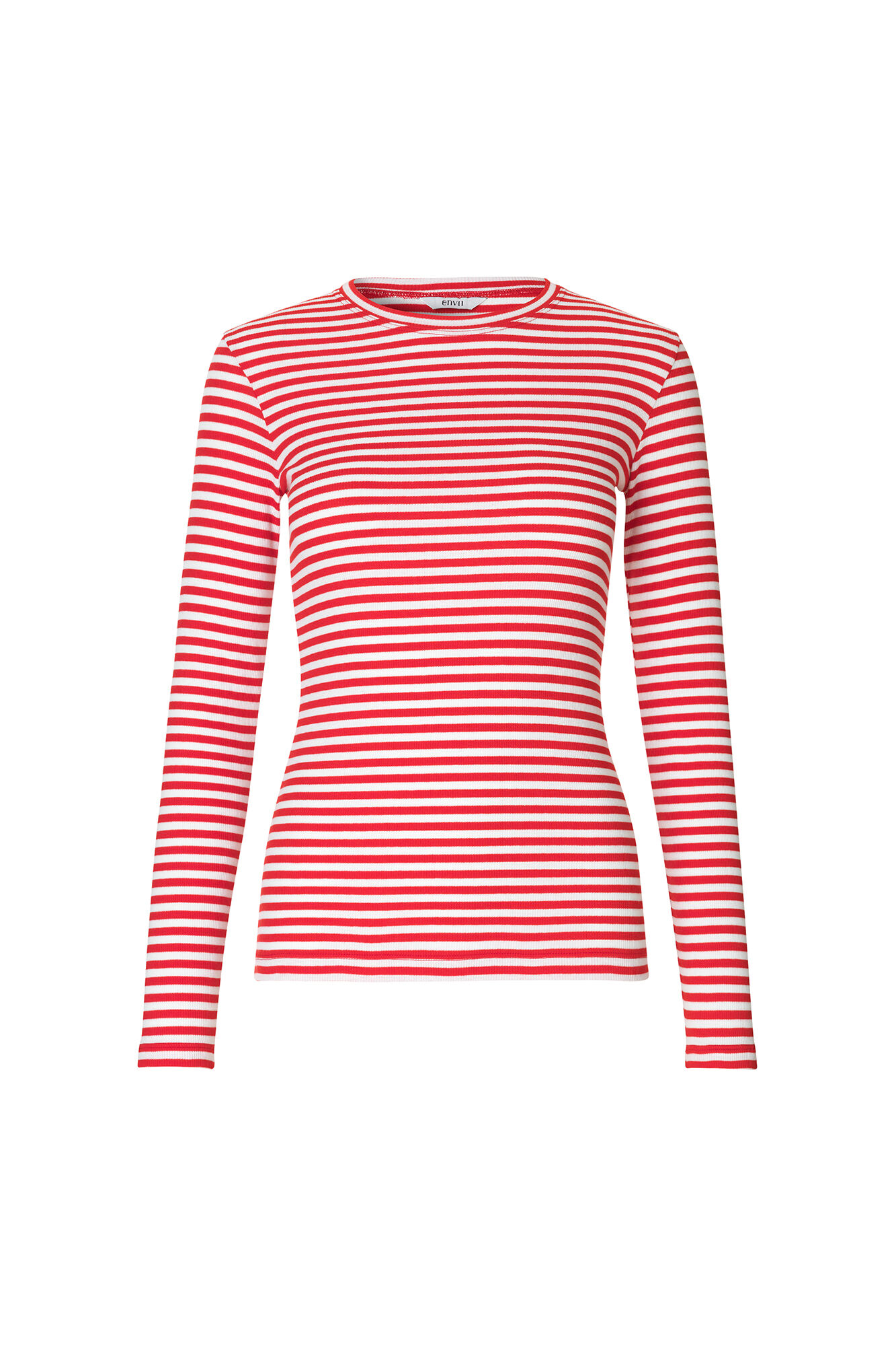 ENALLY LS O-N TEE STRIPE 5892, CANDY STRIPE
