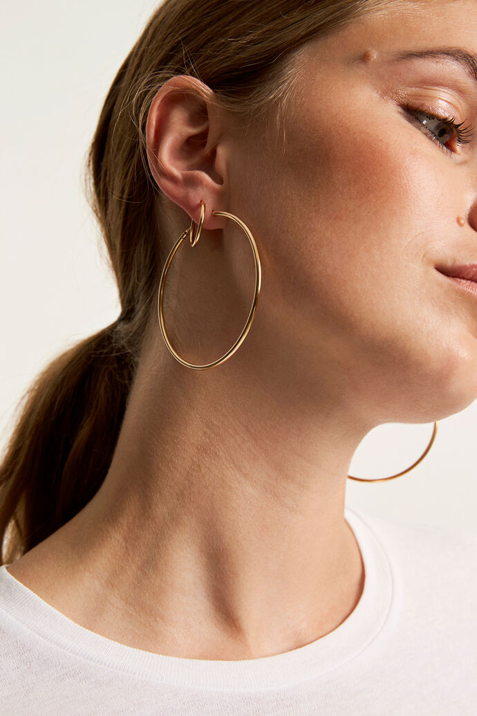 ENPHOEBE BIG EARRING, GOLD