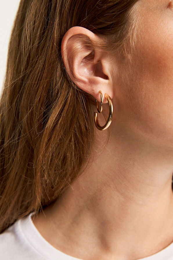 ENJOEY EARRING, GOLD