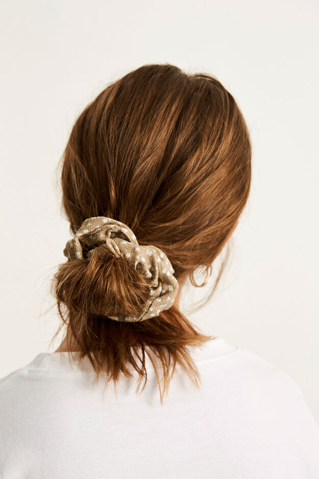 ENWELLY SCRUNCHIE AOP 6626, CAMELLIA BLOOM