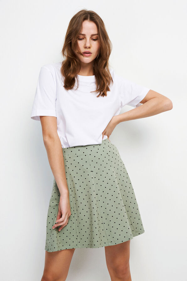 ENMUSIC SKIRT AOP 5890, ICEBERG DOT