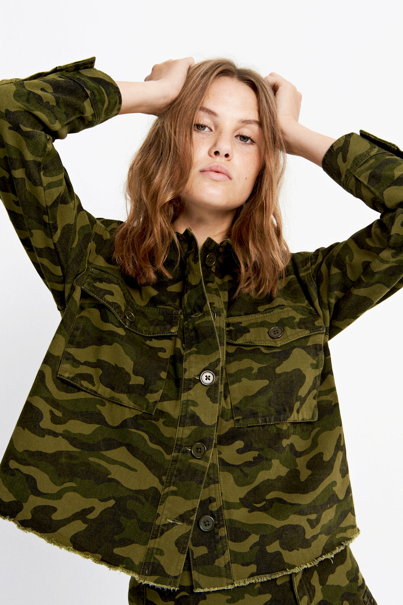 ENPERTH LS SHIRT CAMO 6586
