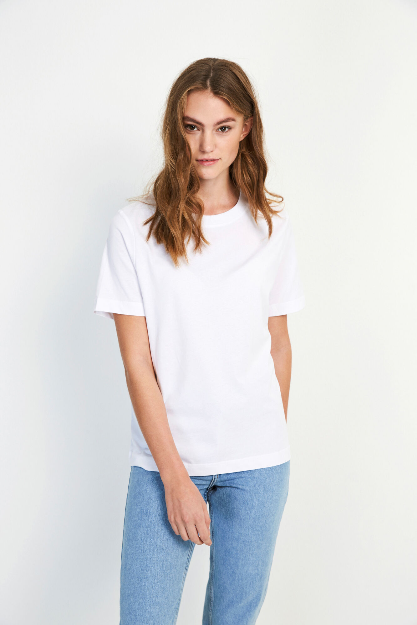 ENBEVERLY SS TEE 5310, WHITE