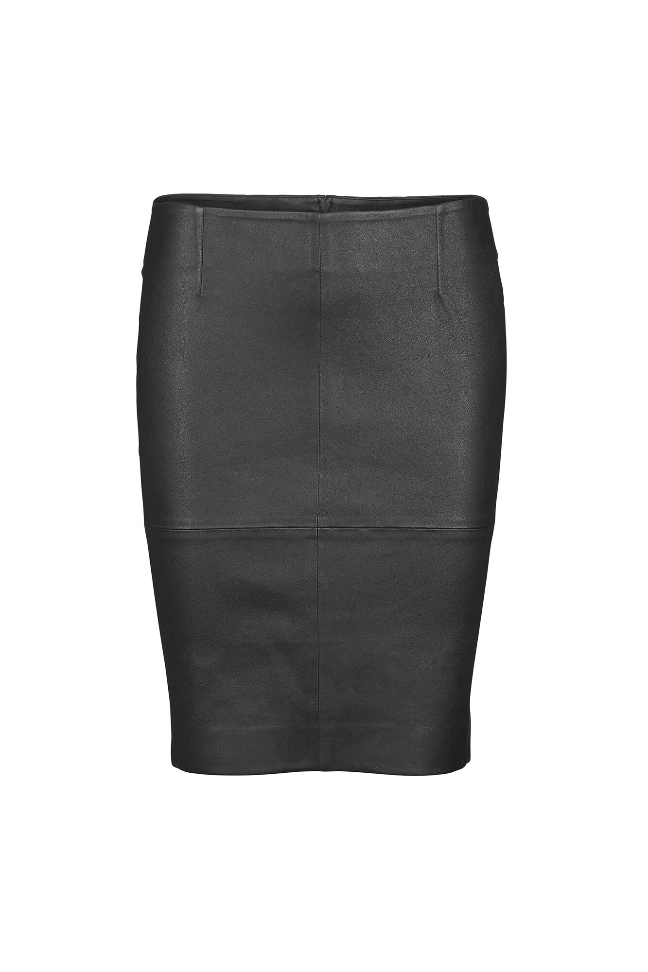ENLEON LONG SKIRT 6401, BLACK