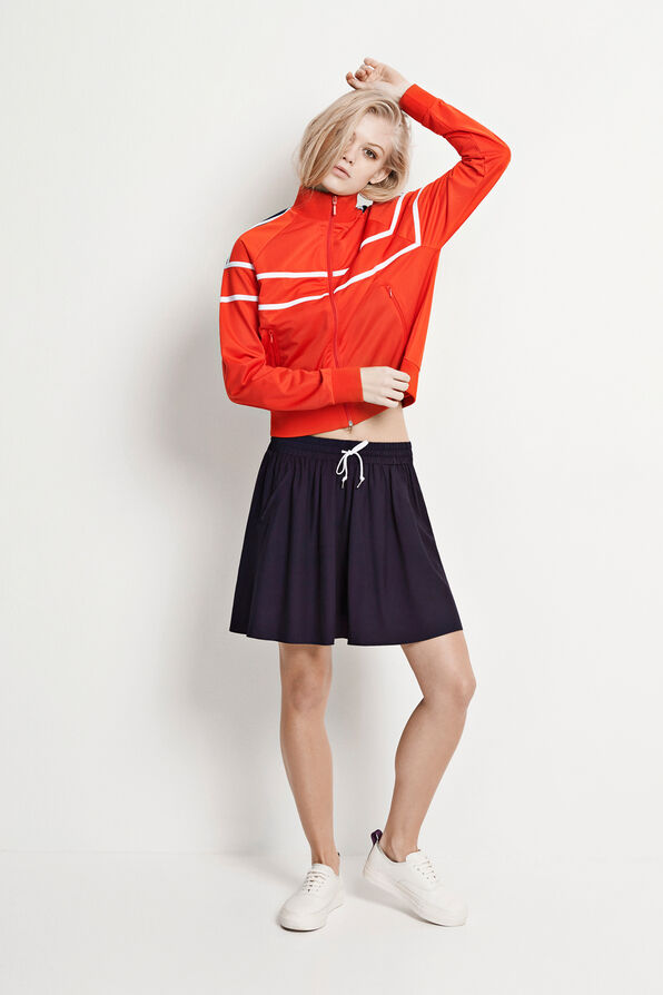 TIRE CONTRAST SKIRT 6431, NEW NAVY